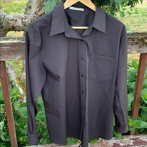 Foxcroft Black Button down 12 non wrinkle